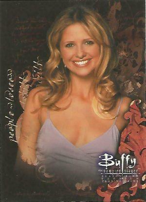 Buffy TVS Season 7 Promo Card B7-4