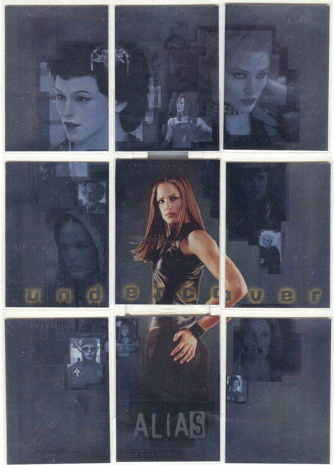Alias Season 2 Undercover Puzzle Chase Card U3