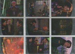 BABYLON 5 SEASON 5 SET OF 9 THIRDSPACE CARDS