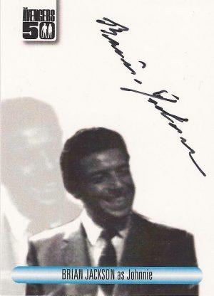 New Avengers Auto Autograph Card N-A7 John Castle as Colonel Jack Miller