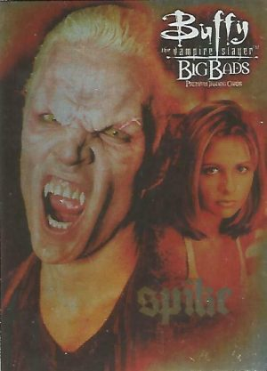 BUFFY THE VAMPIRE SLAYER CONNECTIONS 2003 INKWORKS PROMO CARD P-UK ANGEL
