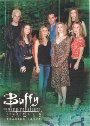 Buffy TVS Season 5 Complete Big Bad Crush Chase Card Set B1-6