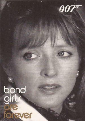 James Bond In Motion Bond Girls Are Forever Chase Card BG71