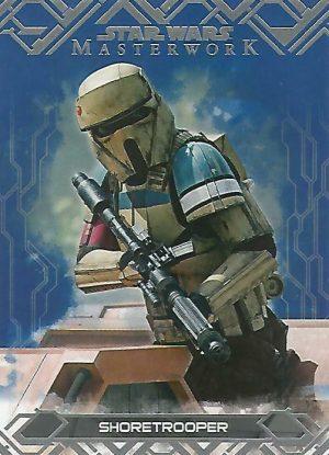 Star Wars Masterwork 2017 Base Card #62 Rey