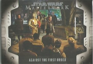 Star Wars Masterwork 2017 Evolution Of The Rebel Alliance Chase Card LP-1