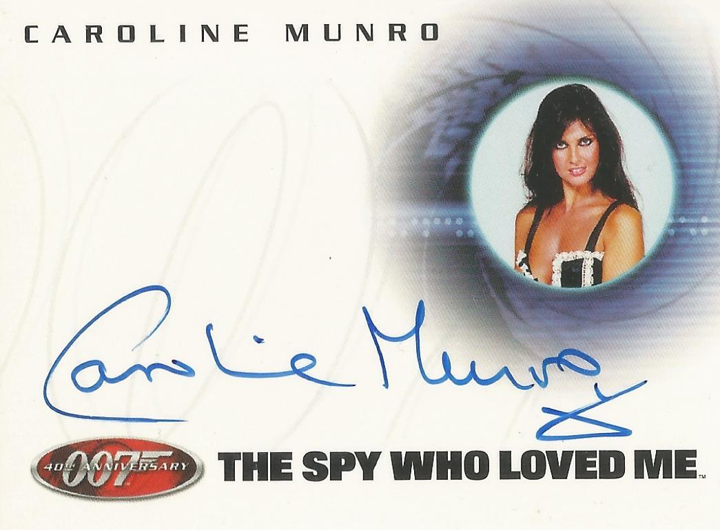 James Bond 40th Anniversary A22 Caroline Munro Naomi